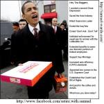 Hey Tea Baggers, it's Obama!