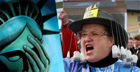 The Tea Party is full of Idiots: Your freedom is at stake!