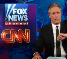 Jon Stewart slams CNN and Fox News  about SCOTUS decision