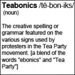 Teabonics