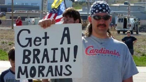 Teabonics: Will someone teach these Tea Party nit-wits to spell already!