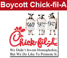 Chick-fil-A not welcome in Boston