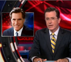 Stephen Colbert on Romney's London Olympics Blunder