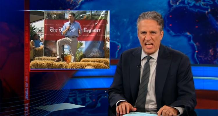Jon Stewart Annihilates Rick Perry – VIDEO