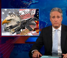Jon Stewart on the Aurora Shootings and Gun Control