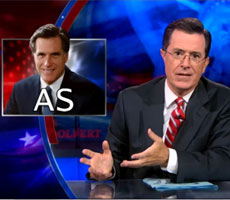 Romney is a big AS – pronounced 'ASS'