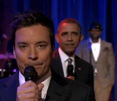 President Obama slow jams the news