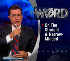 Colbert takes on Texas GOP on 'critical thinking'