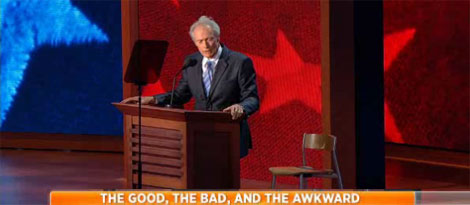 Celebrities Speak Out about Clint Eastwood's Empty Chair Speech