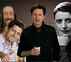Paul Ryan vs. Jesus vs. Ayn Rand