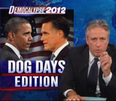 Jon Stewart mocks newest ad by Priorities USA