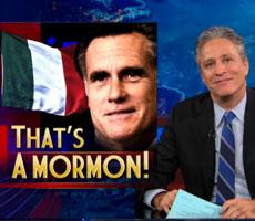 Jon Stewart on Romney's Italian Scandal