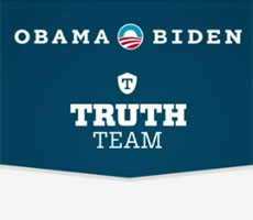 Obama Biden the Truth Team – 3 latest campaign ads