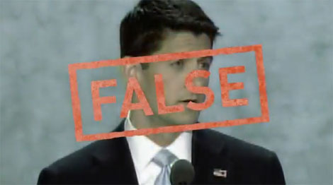 """""""Paul Ryan is long on style, shorter on facts."""""""