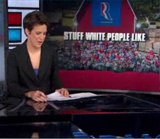 "Romney targets the ""white vote"""