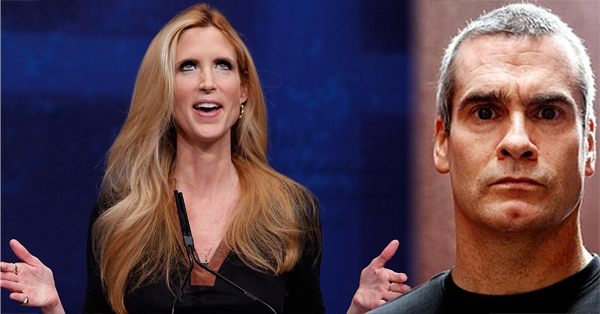 Henry Rollins – Dear Ann Coulter, Shut The F–K Up!