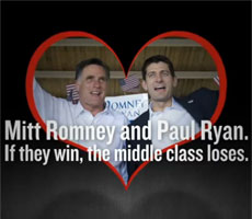 Romney – Ryan: if they win the middle class loses