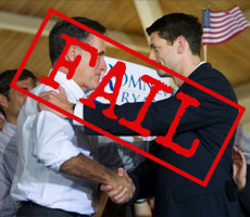 Romney and Ryan – Back to the Failed Top-Down Policies