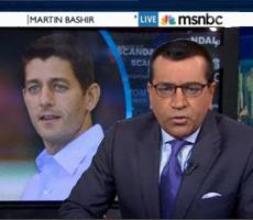 Martin Bashir slams Ryan for sending Americans to war based on lies