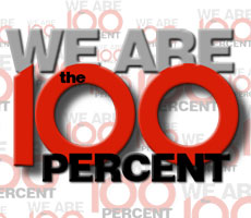 We are the 100%