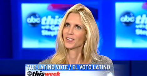Ann Coulter says Democrats 'Dropping the Blacks and Moving on to the Hispanics'