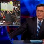 Colbert on Romney Hallmark Card Quotes