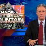 Jon Stewart rips Fox news in Chaos on CHAOS on BULLS#%T MOUNTAIN