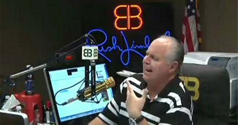 Rush Limbaugh Says All Mass Shooters Are Liberal – Then Takes It Back