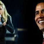 Madonna endorses Obama thanks God for Michelle