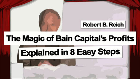 Robert Reich explains the magic of private equity in 8 easy steps