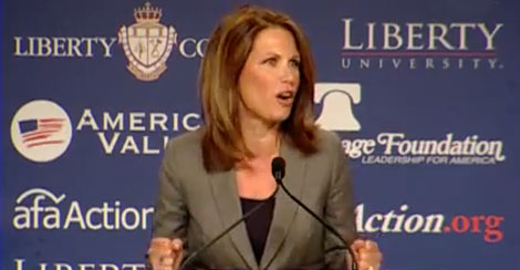 Michele Bachmann: Values Voters Summit 2012 Transcript