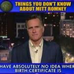 David Letterman - Top Ten Countdown with Mitt Romney