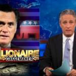 Mitt Romney the Millionaire Gaffemaker Jon Stewart