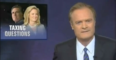 O'Donnell destroys the Romneys