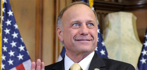 "Rep. King at it again: Obama ""doesn't believe in life and families"""