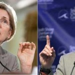 Senator Scott Brown and Elizabeth Warren