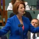Australian Prime Minister Gillard grills oppostion on his misogyny