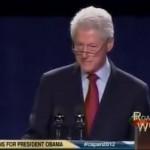 Bill Clinton - Romney Is Hiding The Truth