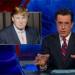 Colbert Challenges Trump