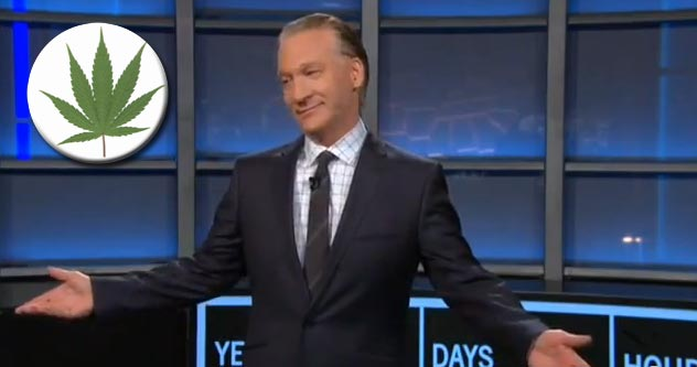 Bill Maher: 'It Looks Like Obama Took My Million and Spent It All on Weed'