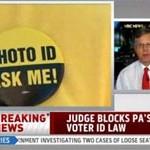 Judge blocks PA voter ID law