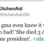 KitchenAid apologizes for attack on Obama's dead grandma