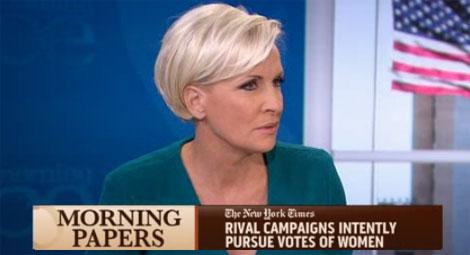 Morning Joe – Romney lied about binder