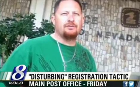 Voter Registration Fraud: Caught Red Handed (VIDEO)