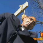 Obama Halloween Display Creates Controversy