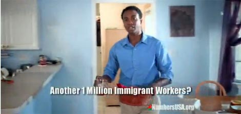 Right-wing ad pits African Americans against immigrants