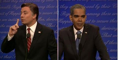 """Romney & Obama Tell Jim Lehrer: """"Shut The F*** Up"""""""