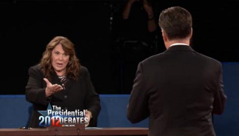 Obama & Moderator Catch Romney Lie (VIDEO)