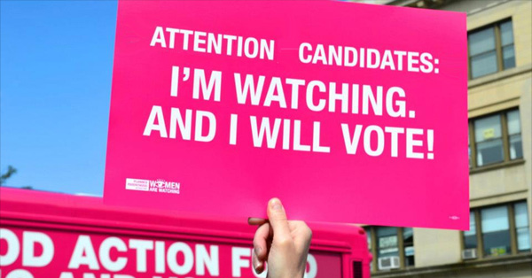 Attention Candidates: I'm Watching And I WILL Vote