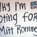 Why I'm voting for Mitt Romney (Parody)